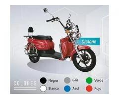 Moto 100% Eléctrica Modelo Cyclone